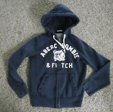 VINTAGE ABERCROMBIE & FITCH MUSCLE FULL ZIP HOODIE S