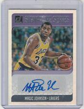 2018 19 Donruss Signature Series Refractor Magic Johnson LA Lakers Hall of Fame