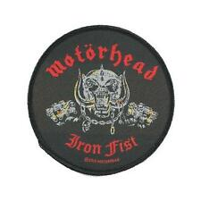 OFFICIAL LICENSED - MOTORHEAD - IRON FIST SKULL SEW ON PATCH METAL LEMMY