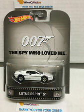 Lotus Esprit S1 * The Spy Who Loved Me*  Bond 007 * Hot Wheels Retro * F5