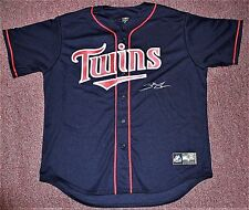 Miguel Sano Signed Minnesota Twins Blue Majestic Jersey ONYX Authenticated
