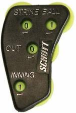 Schutt Sports 4 Function Umpire Indicator (Plastic), Black/Yellow by Schutt