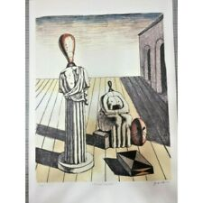 Giorgio De Chirico litografia 50x70 con certificato