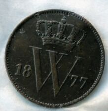 One Cents 1877 Nederland