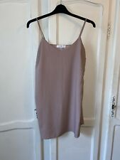 Missguided Pink Slip Dress Size 10
