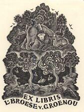 Ex Libris Thijs Mauve : Opus 15, L. Broese van Groenou