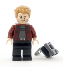 LEGO MARVEL SUPER HEROES 'STARLORD' MINIFIGURE - SPLIT FROM SET 76080
