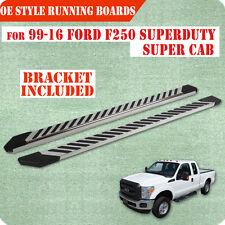 """99-16 FORD F250/350HD Superduty Super Cab 4.5"""" Nerf Bar Running Board SS FL"""