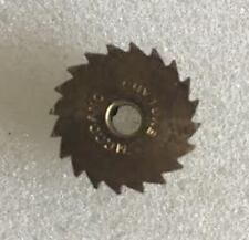 "Meccano - 148 Ratchet Wheel - 20 Teeth - Brass Dia 3/4"" Unused Slight Marks 1st"