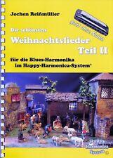 """Harmonica-juego cuaderno sin notas: """"villancicos parte II"""" - para bluesharps"""