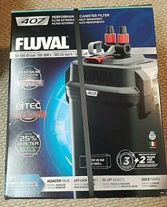 Fluval 407 Performance Canister Filter - up to 100 Gallon Aquarium