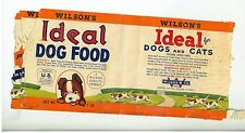 1950s Dog & Cat Food Can Labels - Saved for Mail in Rewards
