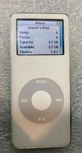 Apple iPod Nano 1st Gen WHITE 4 GB A1137 Tested and Working, FREE SHIPPING! 4gb