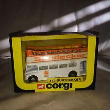 1983 Corgi 478 Suntrekker Double Decker Bus - Mint in Original Box!!