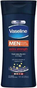 Vaseline Mens Extra Strength Lotion 295 ml