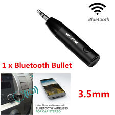 Mini 3.5mm Car AUX Bluetooth 4.1Wireless Stereo Audio Music Receiver Adapter Mic