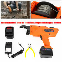 30-60mm Automatic Handheld Rebar Tier Rebar Building Tying Machine Strapping hot