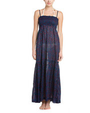 French Connection Ditsy Leaf Maxi Dress 'Nocturnal Mix' Sz S - NWT Beautiful!
