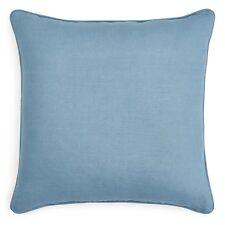 "Sferra Bedding Ginnia Feather/Down 20"" Square Decorative Pillow Blue D1438"
