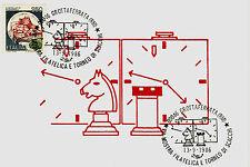 #TORNEO SCACCHI A GROTTAFERRATA - 1986 CON ANNULLI