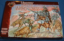 DARK ALLIANCE  #72010 - HEAVY WARG ORCS. 1/72 SCALE UNPAINTED PLASTIC FANTASY