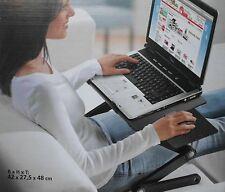 Notebooktisch Laptoptisch Laptop verstellbar + Lüfter Notebookablage Mausablage