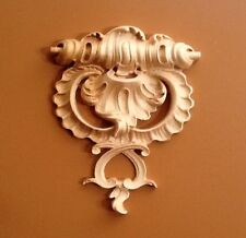 Hand carved Solid Hard Maple Ornamental Corbel  Appliqué