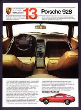 "1982 Porsche 928 Coupe & Interior photo ""Unprecedented Visibility"" promo ad"