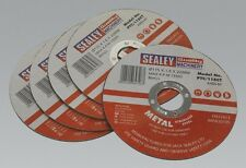 Sealey PTC/115CT5 Cutting Disc 115 X 1.6mm 22mm Bore Pack Of 5 Replacement