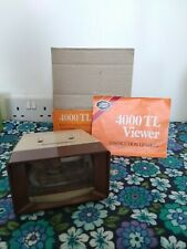 Boots Vintage Viewer 4000 TL Daylight Slides Retro Cool Boxed with Instructions