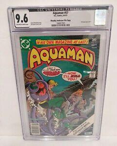 Aquaman #57 CGC 9.6 NM+ Murphy Anderson File Copy Pedigree Black Label Manta