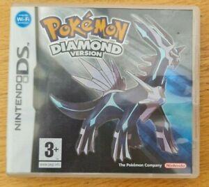 Pokemon Diamond Version Nintendo DS, Lite, 2DS, 3DS Complete With Manual