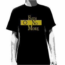 FAITH NO MORE - Gold Logo T-shirt - NEW - SMALL ONLY