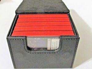 PRO SAFE Black Sidewinder 100+ Deck Case Side Loading Card Box