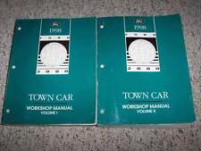 1998 Lincoln Town Car Shop Service Repair Manual Executive Signature Cartier V8