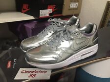 bb316a7e52 Nike Air Max 1 ID Liquid Silver US9