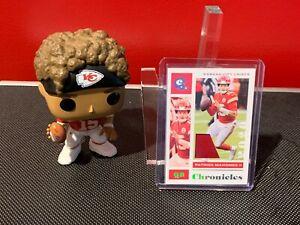 2020 Panini Chronicles Patrick Mahomes Jersey Patch SP #9/25 Kansas City Chiefs!
