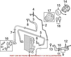 Genuine OEM A/C Compressor for Dodge 55111418AC