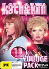KATH and KIM's Yuuuge Pack - Komplete Kollection : Series 1-4 : NEW DVD