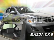 Saute vent Mazda 6 GH Berline 5-porte 2007-2013 4-tlg Foncé Déflecteurs