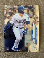 2020 Topps Chrome Gavin Lux Base Rookie RC Los Angeles Dodgers #148