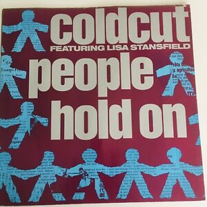 """Coldcut Feat Lisa Stansfield - People Hold On Original 12"""" Vinyl Record"""