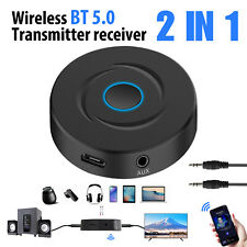 Wireless Bluetooth 3.5mm AUX Audio Stereo Music Home Car Receiver Adapter Kit