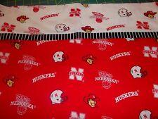 Embroidered Personalized STANDARD Pillowcase Nebraska Huskers