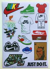 Nike Fashion brand Sneaker Logo Skateboard Laptop Sticker Decal A4 Size