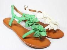 Markenlose Damen-Sandalen mit Kunstleder für die Freizeit