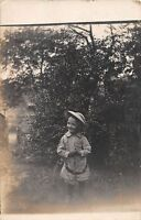 B13/ Salem Ohio Postcard Real Photo RPPC c1910 Child Well-Dressed 14