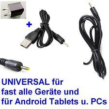 Fuente de alimentación universal cable de carga 2,5mm Europa cargadores 5v 2a 10w dc Tablet PC + USB