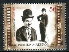 182 - MACEDONIA 2014 - Charlie Chaplin - Actor - MNH Set