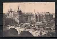 Ansichtskarte - Paris - Le Pont au Change et le Palais de justice